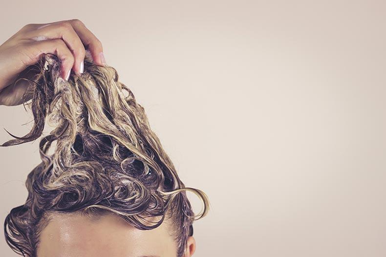 Tangled Wet Hair
